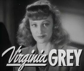 affiche Virginia Grey