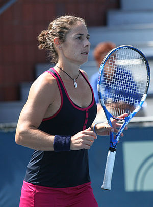 Virginia Ruano Pascual - At the 2009 US Open