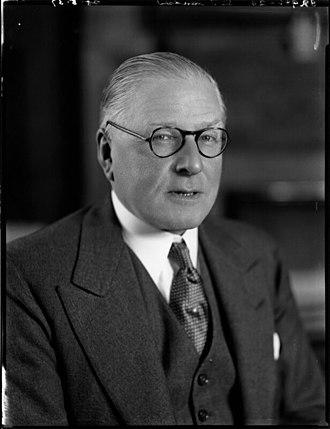 J. C. C. Davidson - Image: Viscount Davidson
