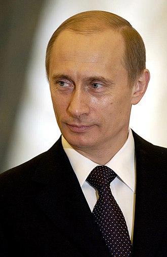 2004 Russian presidential election - Image: Vladimir Putin