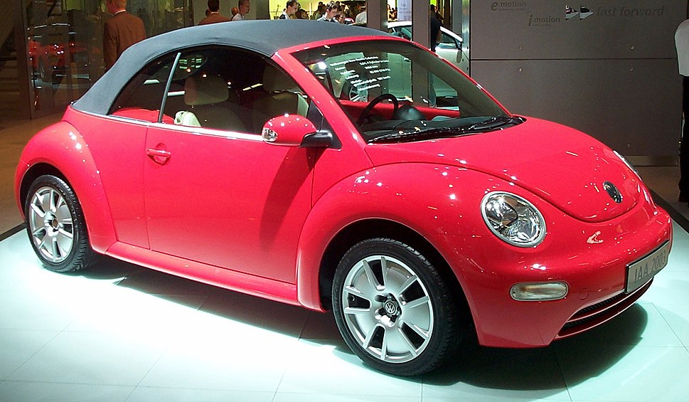 Volkswagen New Beetle Cabriolet Red IAA 2003