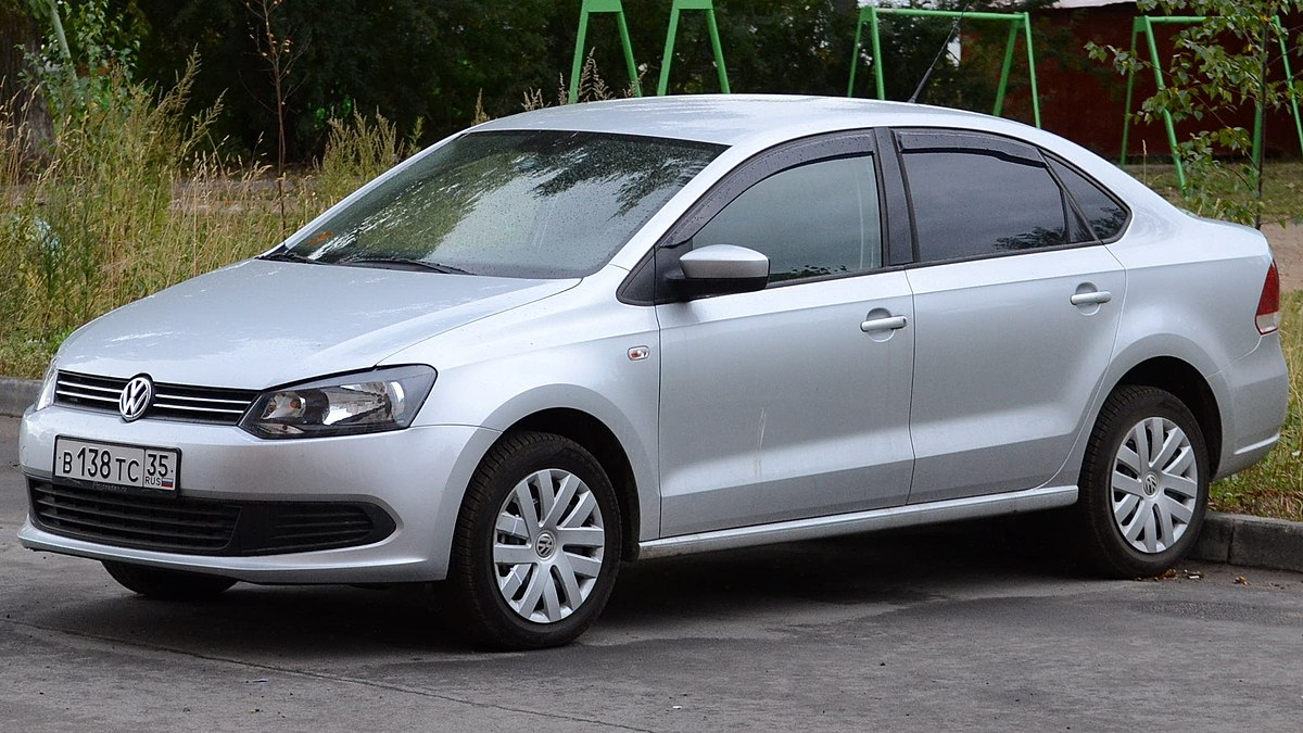 Volkswagen Polo Sedan Вікіпедія