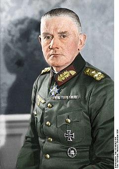 Generaloberst Werner von Blomberg in 1934