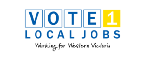 Vote 1 Local Jobs - Image: Vote 1 Local Jobs logo
