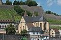 Würzburg, Kath. Pfarrkirche St. Burkard, Ansicht vom Willy-Brand-Kai 20170624 002.jpg