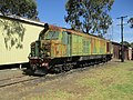 WAGR X class of the Hotham Valley Railway at Pinjarra, November 2019 01.jpg