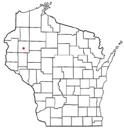 Vị trí trong Quận Shawano, Wisconsin