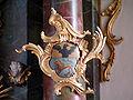 Wallfahrtskirche Steinhausen Wappen rechts.jpg