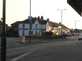 Wallisdown - Wallisdown Roundabout
