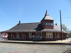 Franklin Line - Historic Union Station in Walpole