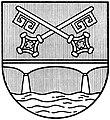 Wappen Stadt Petershagen (sw).jpg