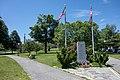 War memorials in Clasky Common Park, New Bedford, Massachusetts.jpg