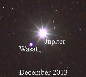 Delta Geminorum - Image: Wasat 2013Dec 10