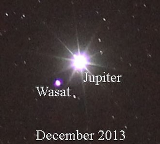 Delta Geminorum - Image: Wasat 2013Dec 10