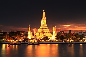 Thonburi Kingdom - Wat Arun, Thonburi