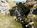 Waterfall on Shaw Gate Gill - geograph.org.uk - 694475.jpg