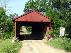 Waterford Covered Bridge (1875) National Register of Historic Places