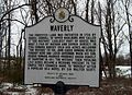 Waverly Historic Marker Marriottsville MD Jan 11.JPG