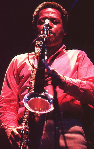 Wayne Shorter - Shorter with Weather Report in Amsterdam, in 1980