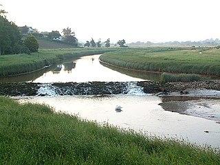 River Clyst River in Devon, England