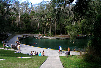 Wekiwa Springs State Park - The spring