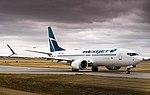 WestJet Boeing 737 MAX 8 (23790874748).jpg