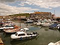 West Bay, across the harbour - geograph.org.uk - 1364920.jpg