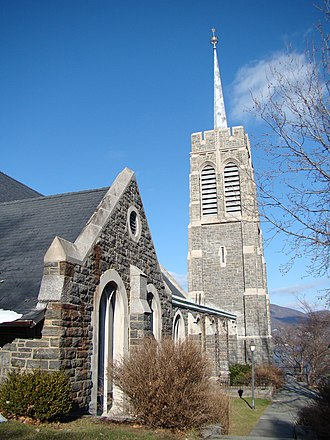 Chapel of the Most Holy Trinity (West Point) - Image: West Point Catholic Chapel