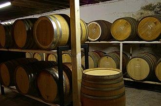 Baskerville, Western Australia - Westfield Winery Cellar