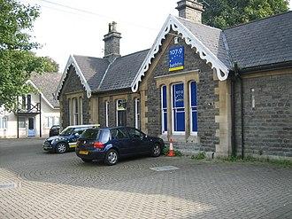 Mangotsfield and Bath branch line - Weston station, September 2007