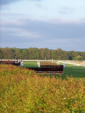 Wetherby Racecourse - Jumps on the Northern side of the circuit.