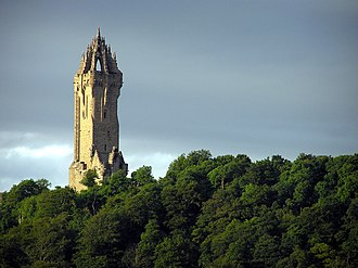 Wallace Monument - The monument