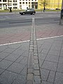 Where the Wall was in Potsdamer Platz.JPG