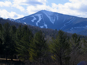 Whiteface Mountain - Image: Whiteface Mountain from near Franklin Falls NY