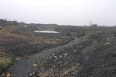 Whitwell Colliery spoil heap - 117679.jpg