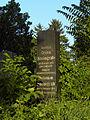 Wien-Simmering - Zentralfriedhof alte jüdische Abteilung - Grabstein von Osias Steingrab.jpg