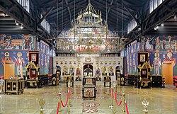 Wien - serbisch-orthodoxe Auferstehungskirche, Innenansicht (2).JPG
