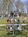 Wiener Zentralfriedhof - Gruppe 35B - Babyfriedhof - Laternen.jpg