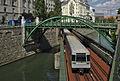 Wientalverbauung, Zollamtssteg und U-Bahn-Brücke (109552) IMG 4765.jpg