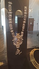 collar of the St. Martin and St. Sebastian Guild from Kortrijk-Dutsel