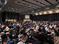 Wikimanía 2015 - Day 4 - Luis von Ahn conference - LMM (3).jpg