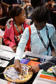Wikimania 2014 WMF Grantmaking Booth 13.JPG