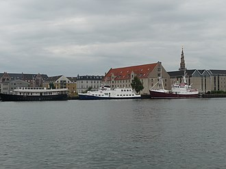 Wilders Plads - The Wilder Warehouse seen from the harbor