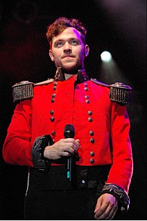 Will Young English singer-songwriter and actor