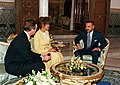 William Cohen and Janet Langhart Cohen meet with King Mohammed VI of Morocco.jpg