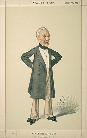 William Maynard Gomm - Caricature of William Maynard Gomm, Vanity Fair, 1873