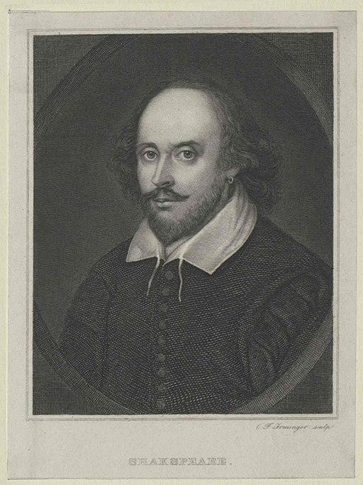 William Shakespeare (1564–1616) by Carl Friedrich Irminger (1813–1863) OeNB 3499356