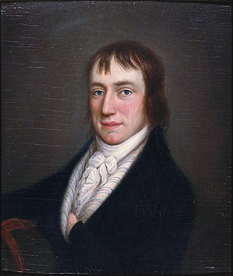 1798 in poetry - Image: William Wordsworth at 28 by William Shuter 2