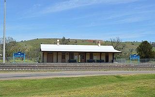 Willow Tree railway station