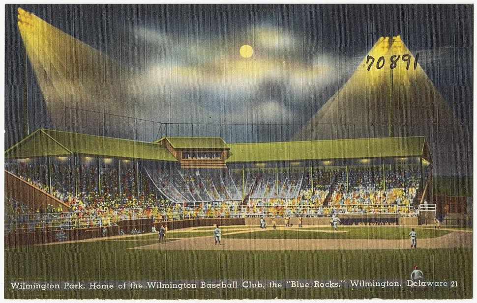 Wilmington Park, home of the Wilmington Baseball Club, the Blue Rocks, Wilmington, Delaware